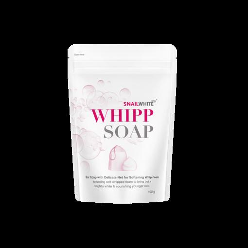 Xà Phòng Rửa Mặt Tạo Bọt Snail White Whipp Soap