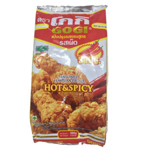 Gogi Seasoned Tempura Flour Hot & Spicy 500 G