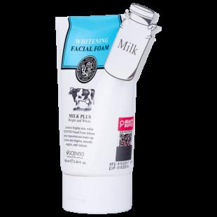 Scentio Milk Plus whitening facial foam
