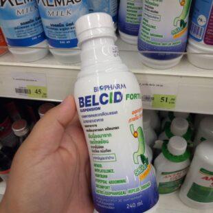 thuốc trị đau bao tử dạ dày Belcid Suspension Thái Lan