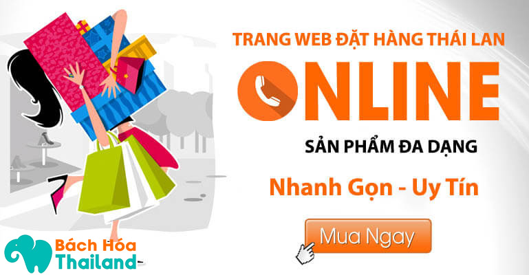 Trang web mua hàng online Thái Lan