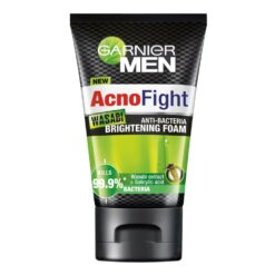 Sửa rửa mặt Garnier Men Acnofight Wasabi Anti-Bacteria Brightening 100ml