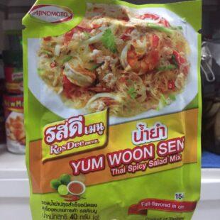 Ajinomoto ROSDEE Menu Thai Spicy Yum Woon Sen