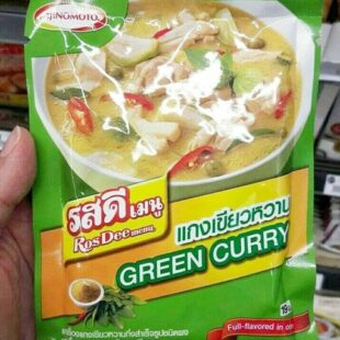 Ajinomoto RosDee Menu Green Curry