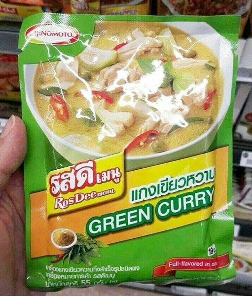 Ajinomoto RosDee Menu Green Curry