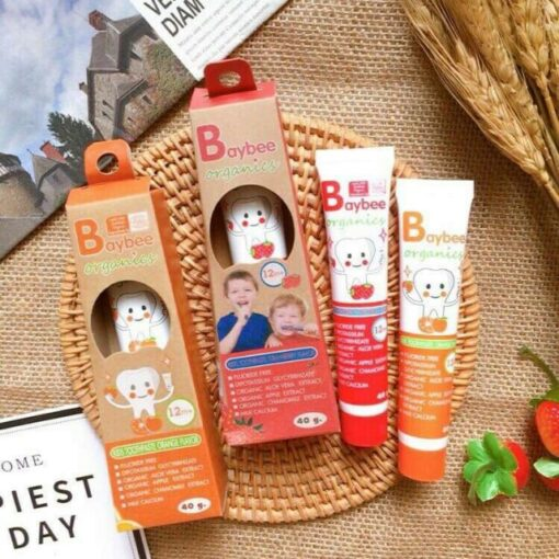 Baybee Organic kids toothpaste