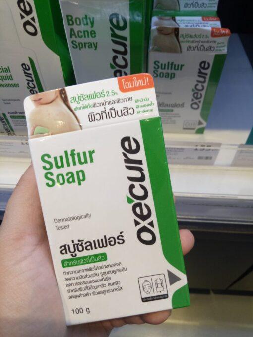 Oxe'Cure Sulfur Soap