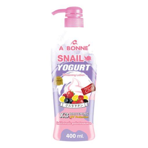 A Bonne' Snail Yogurt Whitening Lotion 400 Ml