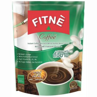Fitne Instant Coffee Mix With White Kidney Bean Extract & L-Lysine