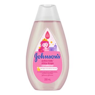 Johnson's Active Kids Shiny Drops Conditioner 200ml