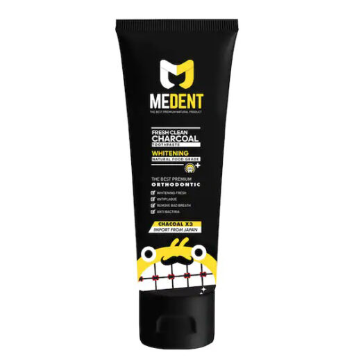 Medent Fresh Clean Charcoal Toothpaste 100 g