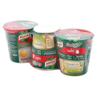 cháo ly ăn liền Knorr Thái Lan