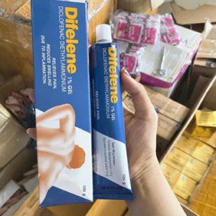 Difelene 1% GEL Diclofenac Diethylammonium 100g