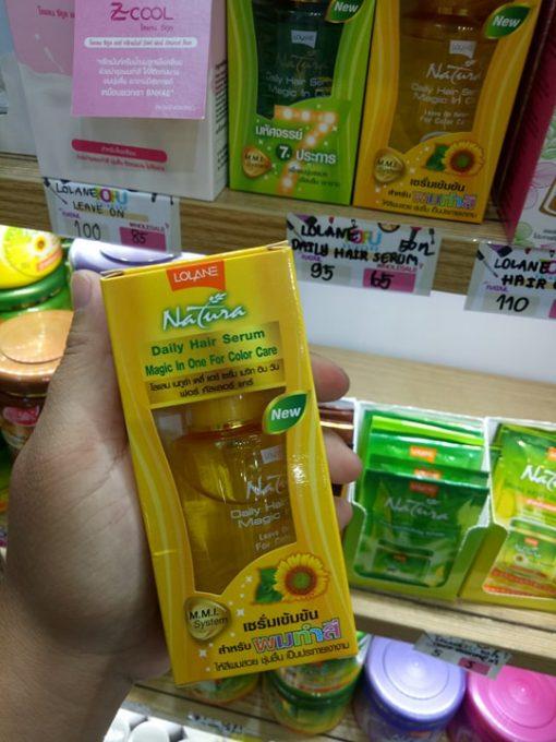 Serum dưỡng tóc Lolane Nature Daily Hair Serum Magic In One 50ml