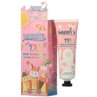 Walnut's Body Sunscreen lotion SPF50 PA+++
