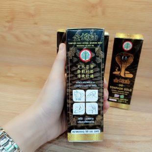 Dầu rắ'n ћổ mang Tonphor Gold Thái Lan