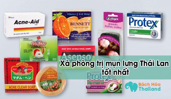 xà phòng trị mụn lưng Thái Lan tốt nhất