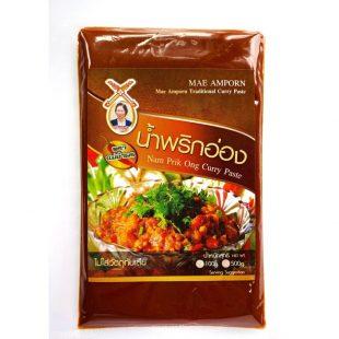 Mae Amporn Nam Prik Ong Curry Paste 100g