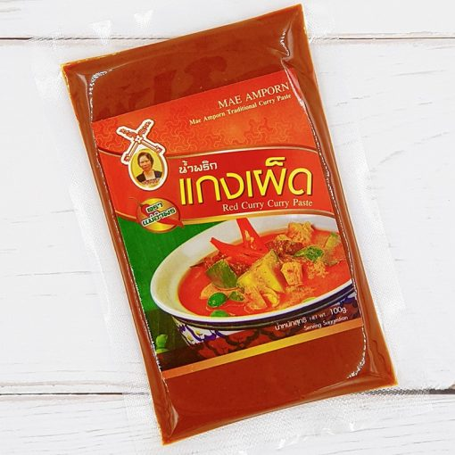 Mae Amporn Red Curry Paste 100g